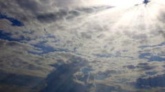 Clouds time lapse - stock footage