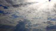 Stock Video Footage of Clouds time lapse