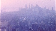 Stock Video Footage of New York City Skyline Circa 1955 (Vintage Film Home Movie) 437