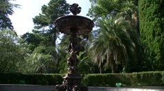 Decorative fountain Stock Footage