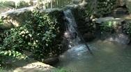 Falls on brook... Stock Footage