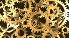 Gears in Motion - updated with alpha Stock Footage