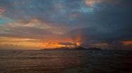Sandy beach Stock Footage