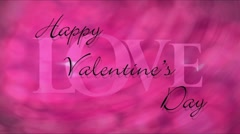 Happy Valentine's Day Part 2 Stock Footage