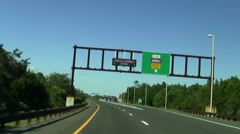 Express ezpass Stock Footage