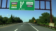 Cape May toll Stock Footage