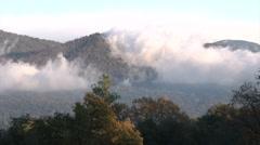 Mountain Cloud Timelapse, Sierra Nevadas, CA Stock Footage