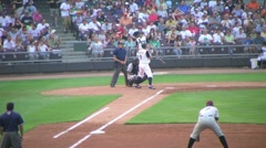 Batter Strikes Out 03 Stock Footage