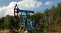 HD Fossil Fuel Energy, Oil Pump, Pumpjack, Old Pumping Unit, Jack Pump, Donkey Footage