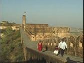 Stock Video Footage of Jaighar Fort Jaipur Rajasthan India