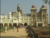Stock Video Footage of Palace of Mysore, India