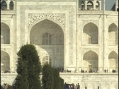 Stock Video Footage of Taj Mahal, Agra, India