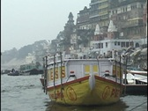 Stock Video Footage of Ghats, Varanasi, India, on Ganges River