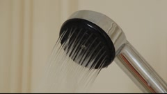 shower head. - stock footage