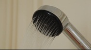 Shower head. Stock Footage