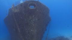 Caribbean Sunken Stock Footage