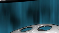 Film Reel Looping Animated Background Stock Footage