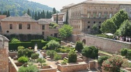 Alhambra grounds  Stock Footage