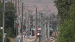 Utah Trax Train Rail - stock footage