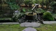 Stock Video Footage of Japanese bamboo fountain