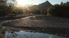 Stream Sunburst - stock footage