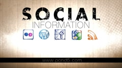 Social Information Stock After Effects