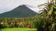 Volcano in Costa Rica - stock footage