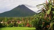 Volcano in Costa Rica Stock Footage