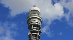 BT Tower Timelapse #3 - stock footage