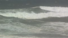 Angry surf Stock Footage