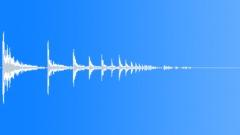 CARTRIDGE SHOTGUN 12 GAUGE IMPACT CERAMIC TILES18 STEREO Sound Effect