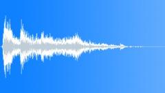 CRASH VEHICLE LARGE DEBRIS STEREO04 - sound effect