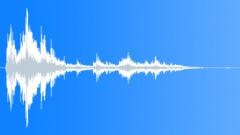 CRASH VEHICLE LARGE DEBRIS STEREO08 Sound Effect