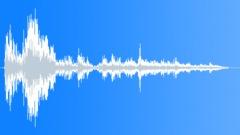 CRASH VEHICLE LARGE DEBRIS STEREO19 Sound Effect