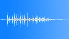 DICE MEDIUM PAIR GLASS TABLE THROW02 Sound Effect