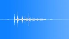 DICE MEDIUM PAIR GLASS TABLE THROW04 Sound Effect