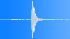 DOOR PIVOT INTERIOR WOODEN LOUVRE CLOSE - sound effect
