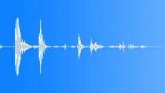 DOOR PIVOT WOODEN BOOKCASE CLOSE KEY LOCK01 - sound effect