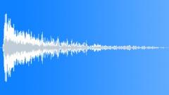 EXPLOSION MEDIUM WOOD STEREO18 Sound Effect