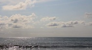Sea horizon Stock Footage