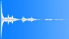 METAL RUBBISH BIN SMASH CONCRETE01 - sound effect