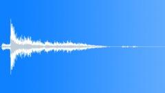 WRECK METAL PART IMPACT METAL 04 - sound effect