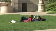 Stock Video Footage of Couple in Millenium Park