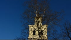Finland Rauma Holy Ghost church Holy figure Stock Footage
