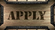 Stock Video Footage of apply on wooden stamp