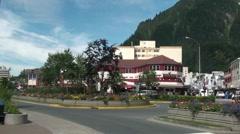 Juneau, Alaska, - stock footage