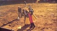 Proud Man Accepts Defeat BULLFIGHT MATADOR ARENA 70s Vintage Film Home Movie 481 Stock Footage