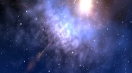 Space background Stock Footage