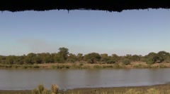 River view in South Africa Stock Footage