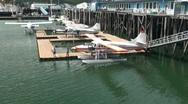 Juneau  ,float planes Stock Footage